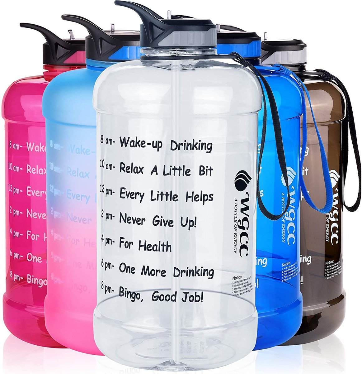 ad: ONLY $9.99   1 Gallon Motivational Water Bottle