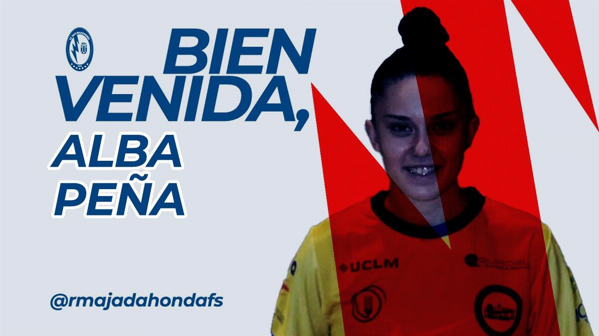 💥🔄 FICHAJE / 1ª División Femenina 🇪🇦💥  🗞️ @Albita0711 es nueva jugadora del @RMajadahondaFS 🤍❤️ para la temporada 2021/2022, procedente del @CDSalesianosPto 💛💙. ¡Mucha suerte al club y a la jugadora en su etapa juntos! 💪🏻  #Majadahonda #Puertollano #futsal #5x5