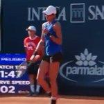 Image for the Tweet beginning: #TennisLive Quarterfinal Bound in Palermo