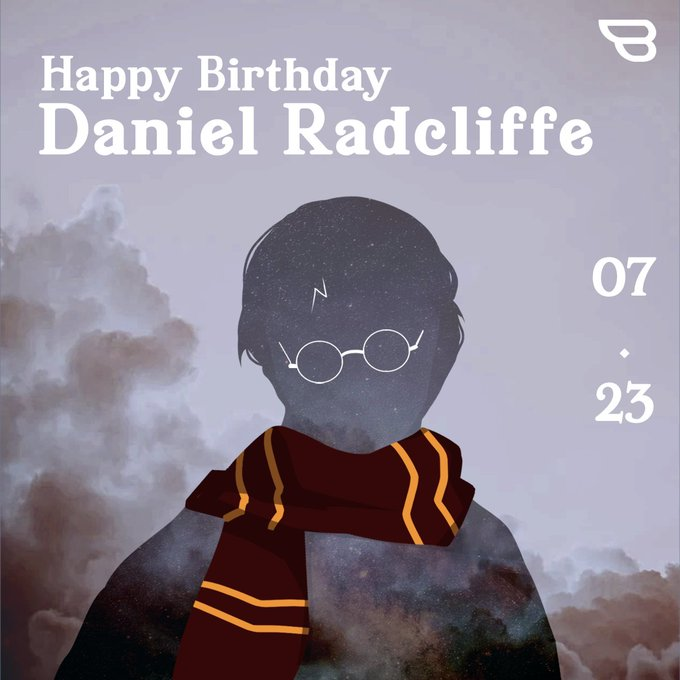 Happy birthday to our Harry Potter! Enjoy a magical day!