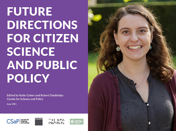 ✍🏼 New blog! How can #CitizenScience lead to more inclusive and effective decision making across a range of policy domains? @CSciPol's new essay collection, 'Future Directions for Citizen Science and Public Policy' explores this question. Read our Q&A ➞ https://t.co/Ll3TTS2G7t. https://t.co/NvCEzTo6K9