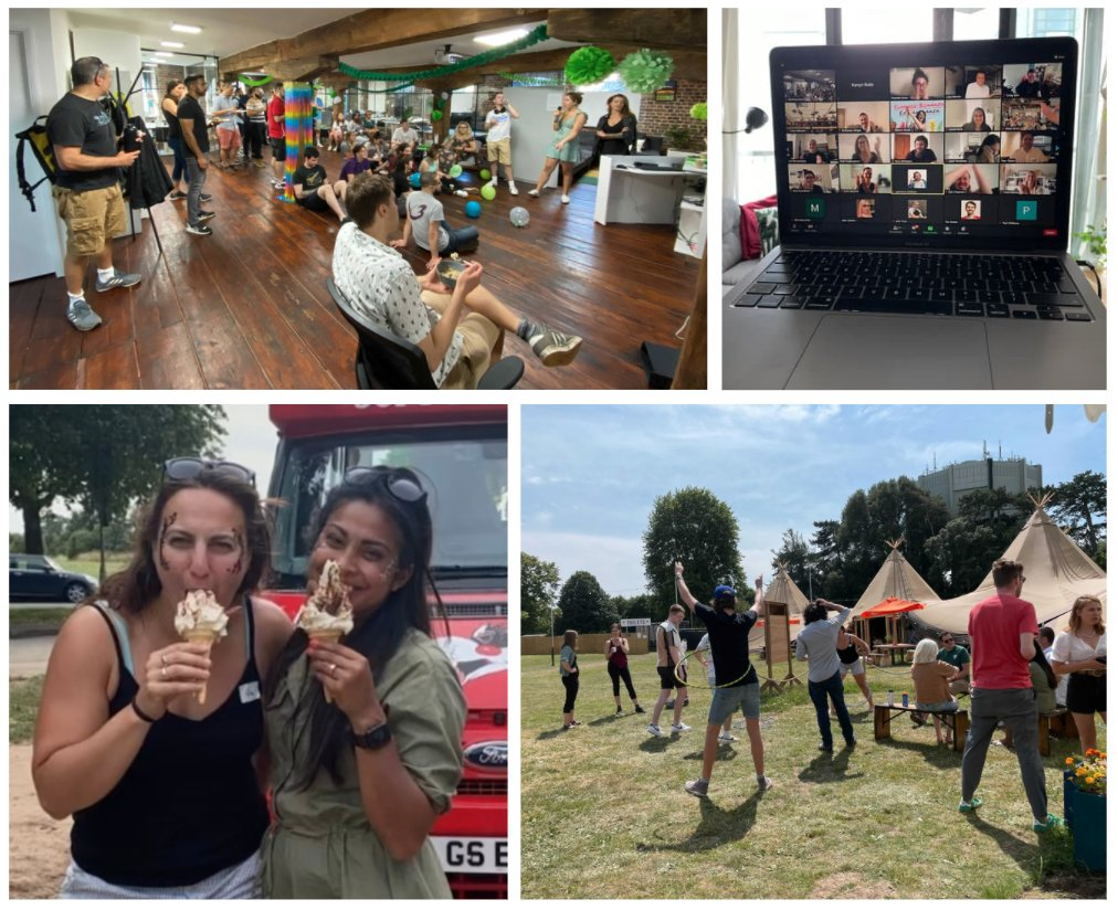We've had so much fun at this year's Made Tech Summer Extravaganza! ☀️🎉 A big thank you to our Culture and Happiness team who worked so hard on putting the afternoon together and ensuring it was as inclusive as possible! #SummerSocial #SummerExtravaganza #MadeTechSummerX