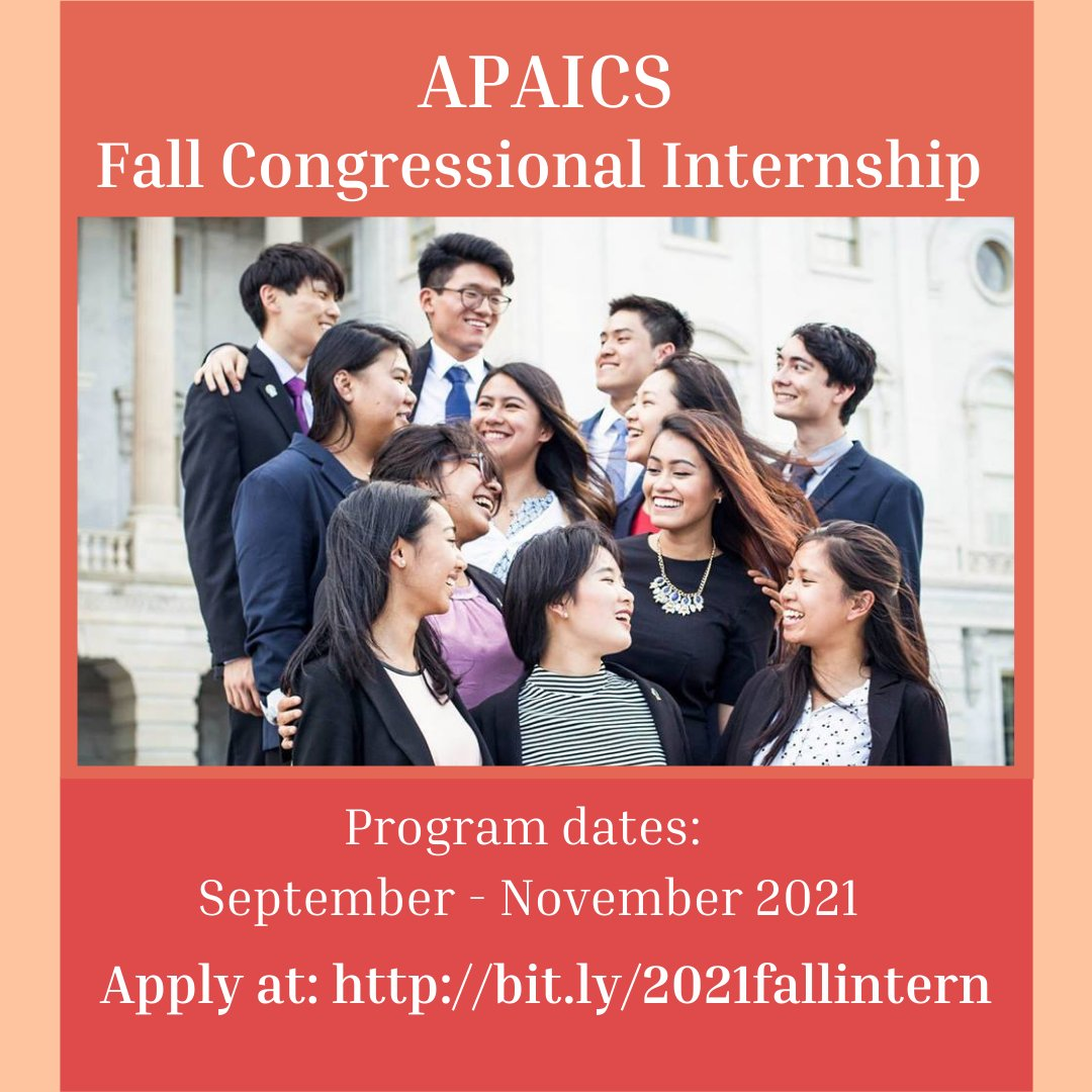 ONE WEEK LEFT TO APPLY -- If you are currently an undergraduate student interested in working on Capitol Hill, apply to our Fall 2021 Congressional Internship program!   Apply to the 8-week program by July 30 at 11:59 PM ET: https://t.co/IbNNVbdgaU https://t.co/xMYxuhnMj5
