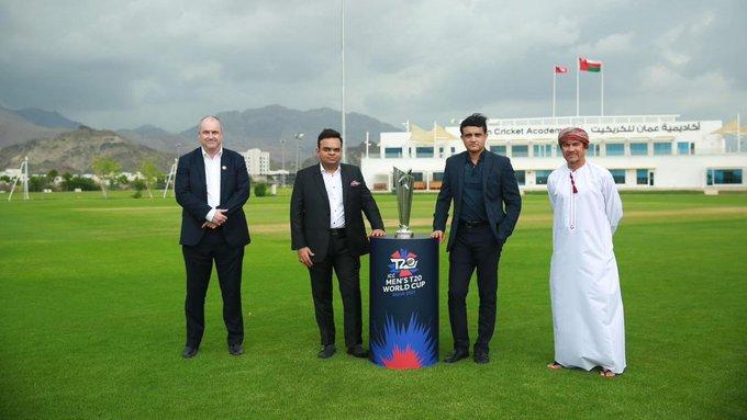 क्रिकेट में T-20 विश्व कप मुकाबलों के ग्रुप की घोषणा, भारत-पाकिस्तान की टीम एक ही ग्रुप में