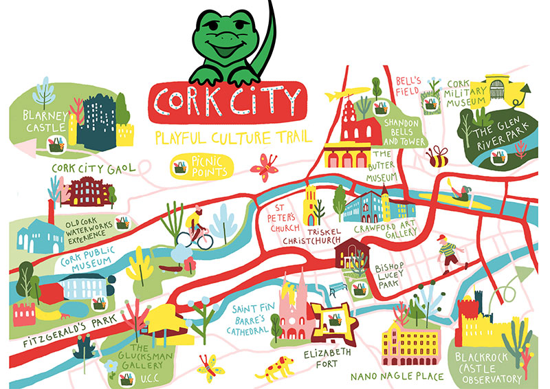 🗺️ X marks the spot!  We're super excited to be one of the many brilliant cultural stops on the Cork City Playful Culture Trail. Explore the city's culture and heritage spaces, with colouring activities, scavenger hunts and much more...  ☀️ https://t.co/riCxrE9wjq https://t.co/SfCA6FLN0s