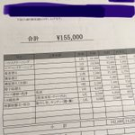 「退去費用戦争」をしました。その結果、当初155,000円だったのが3,300円で終戦となりました。