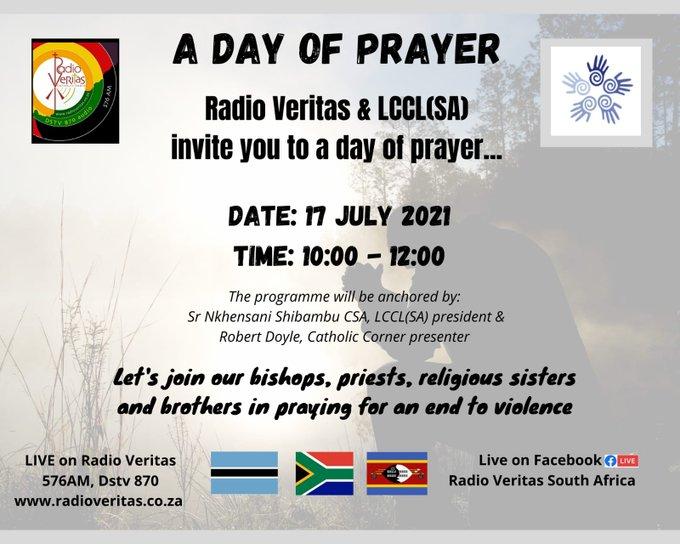 Radio Veritas & LCCL (SA): A Day of Prayer
