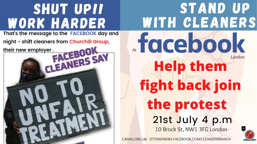Mid-July roundup: cleaners' and rail disputes, prisoner solidarity and more