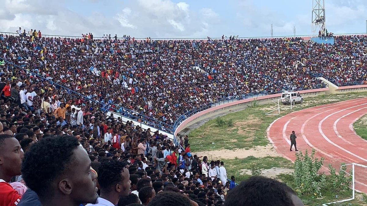 Magnificent footage of Mogadishu Stadium match between Hoorseed and MCC. https://t.co/fiyvvHrCOG