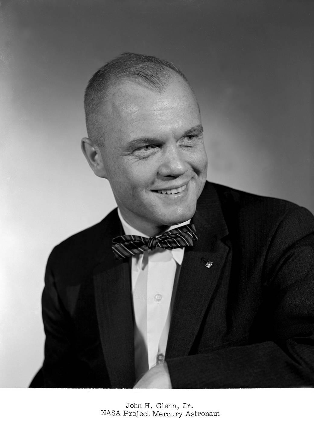 John Glenn Mercury Portrait