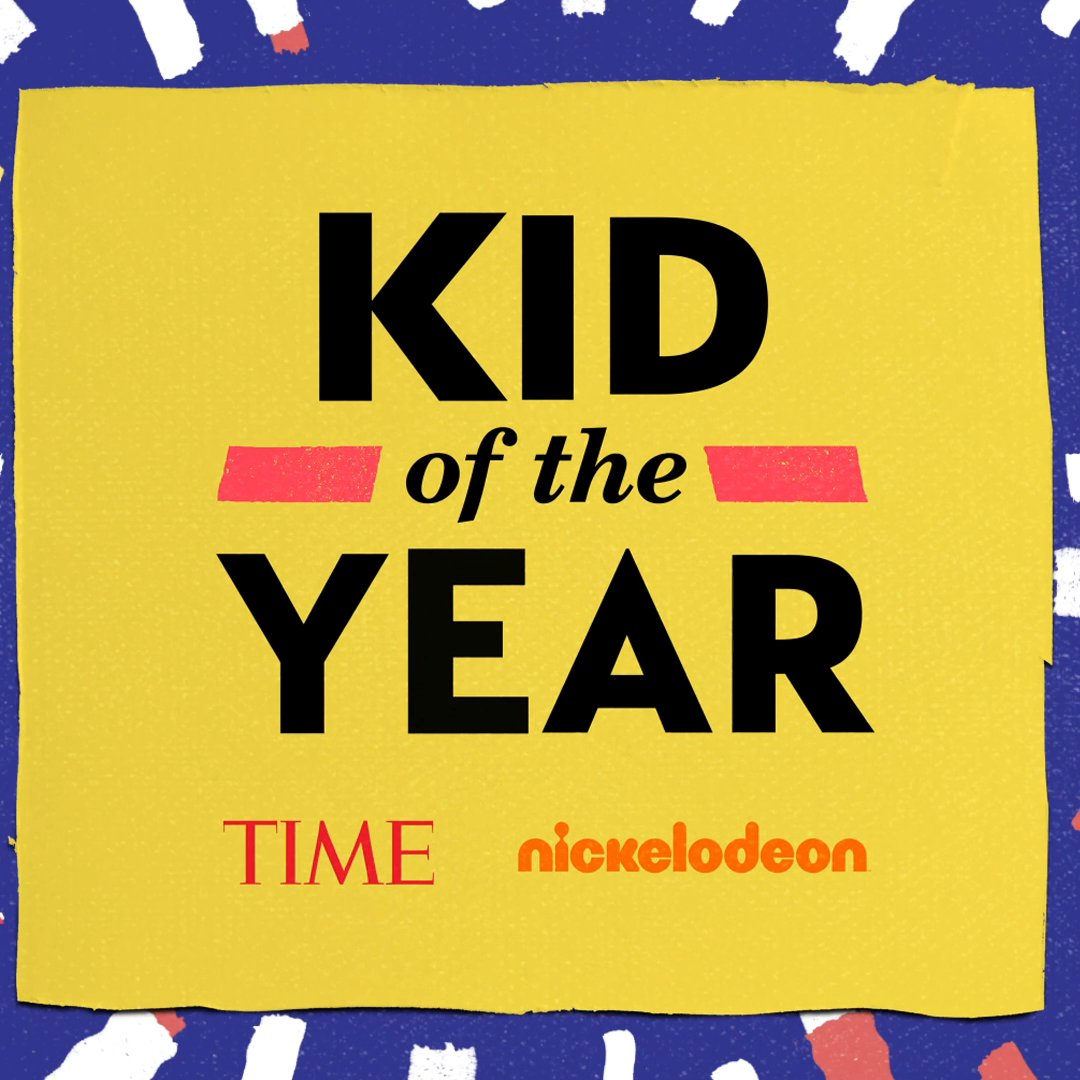 BREAKING NEWS! We're looking for the next @TIME Kid of the Year 🎉 Visit https://t.co/HocxZHDlQs to find out more.   @nickelodeon @trevornoah #KidOfTheYear https://t.co/xOcV2GbT8X
