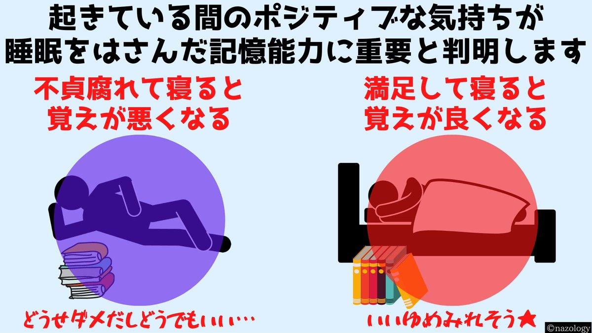 ポジティブな満足感が?睡眠中に記憶力を向上させることが判明!