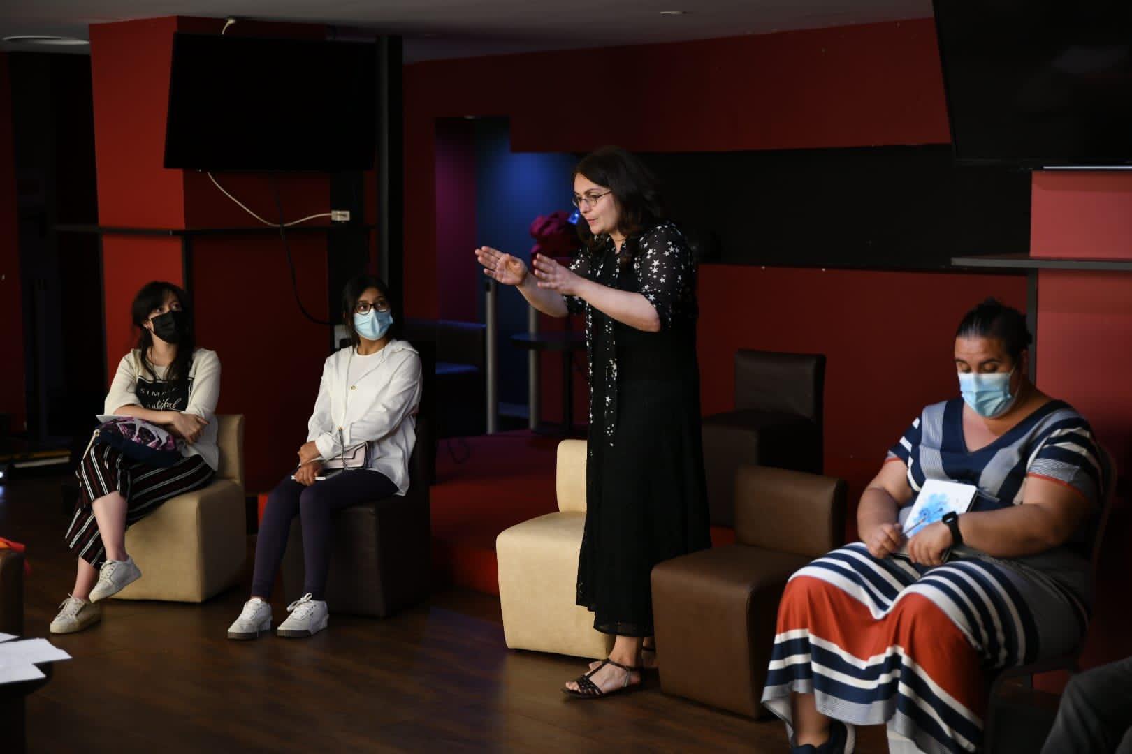 El taller literario de Sofía Rhei