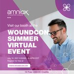 Image for the Tweet beginning: Woundcon Summer 2021 starts today,