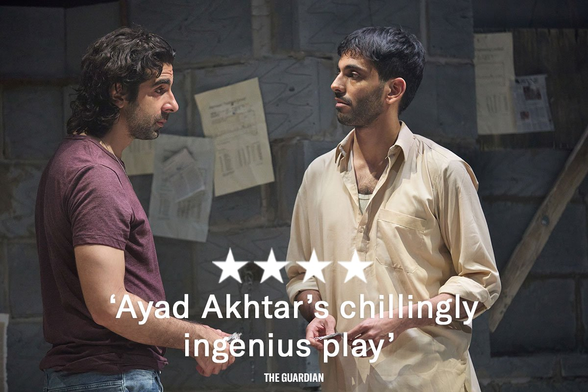 'Ticket recommendation - buy, buy, buy' - @guardian. Just TWO WEEKS left to catch #TheInvisibleHand. Very few tickets remain - don't miss out. Book yours: bit.ly/TheInvisibleHa…