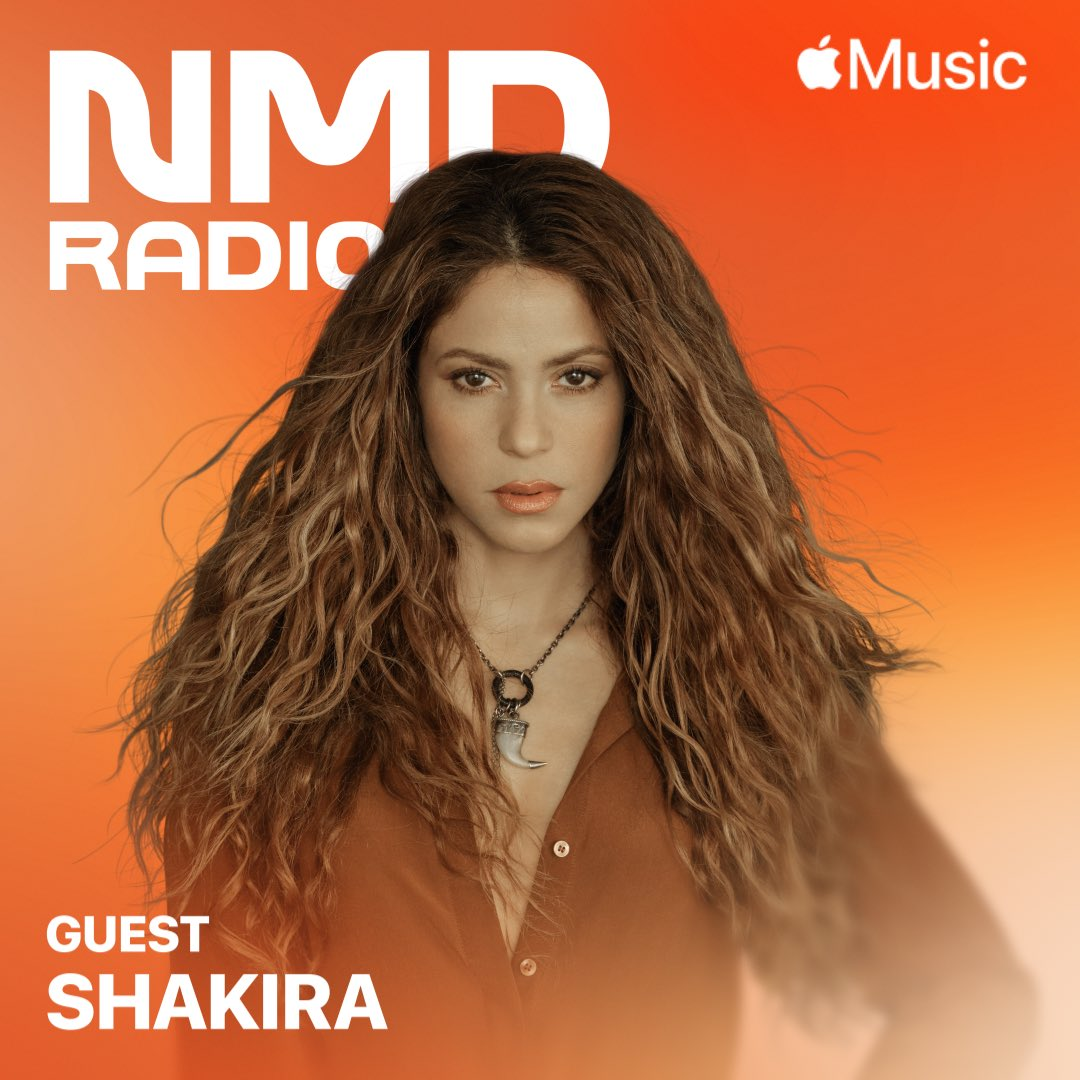 huge #NewMusicDaily show today. @shakira talking Don't Wait Up, @OfficialWillow on lately I feel EVERYTHING, @ILLENIUM on Fallen Embers, plus more from @JohnMayer @swedishousemfia. Tap in @AppleMusic    https://t.co/f7xm583uzO https://t.co/0XXSXjawXg