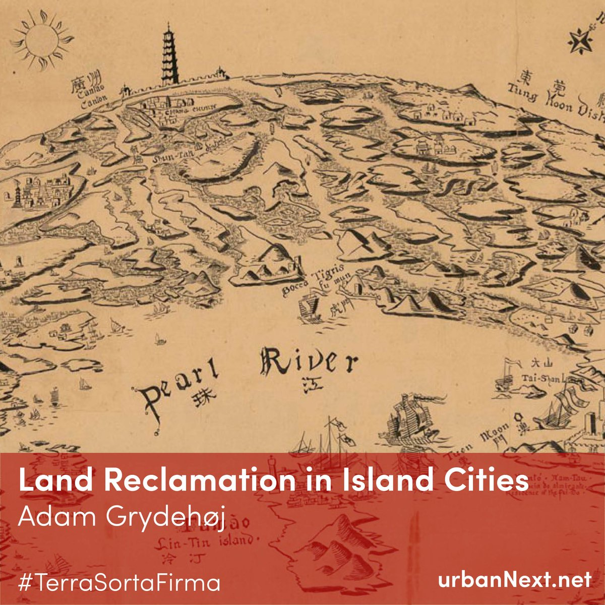 """""""Because many islands have been connected to the mainland through reclamation, we often fail to recognise island cities for what they are."""" ~ Read this insightful essay by Adam Grydehøj on the impact of land reclamation on public spaces at the link below!"""