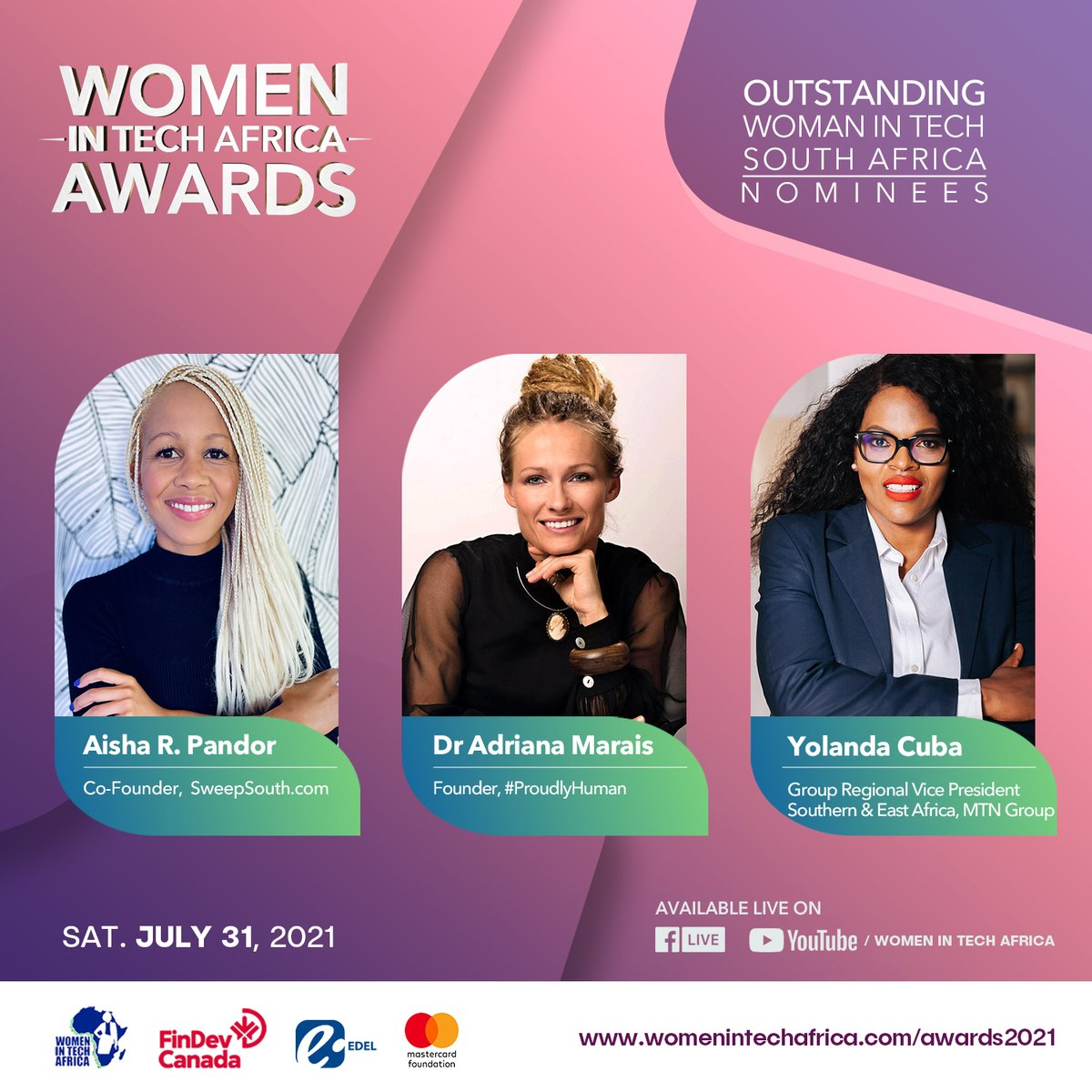 Congratulations to our CEO and her fellow nominees 👏
