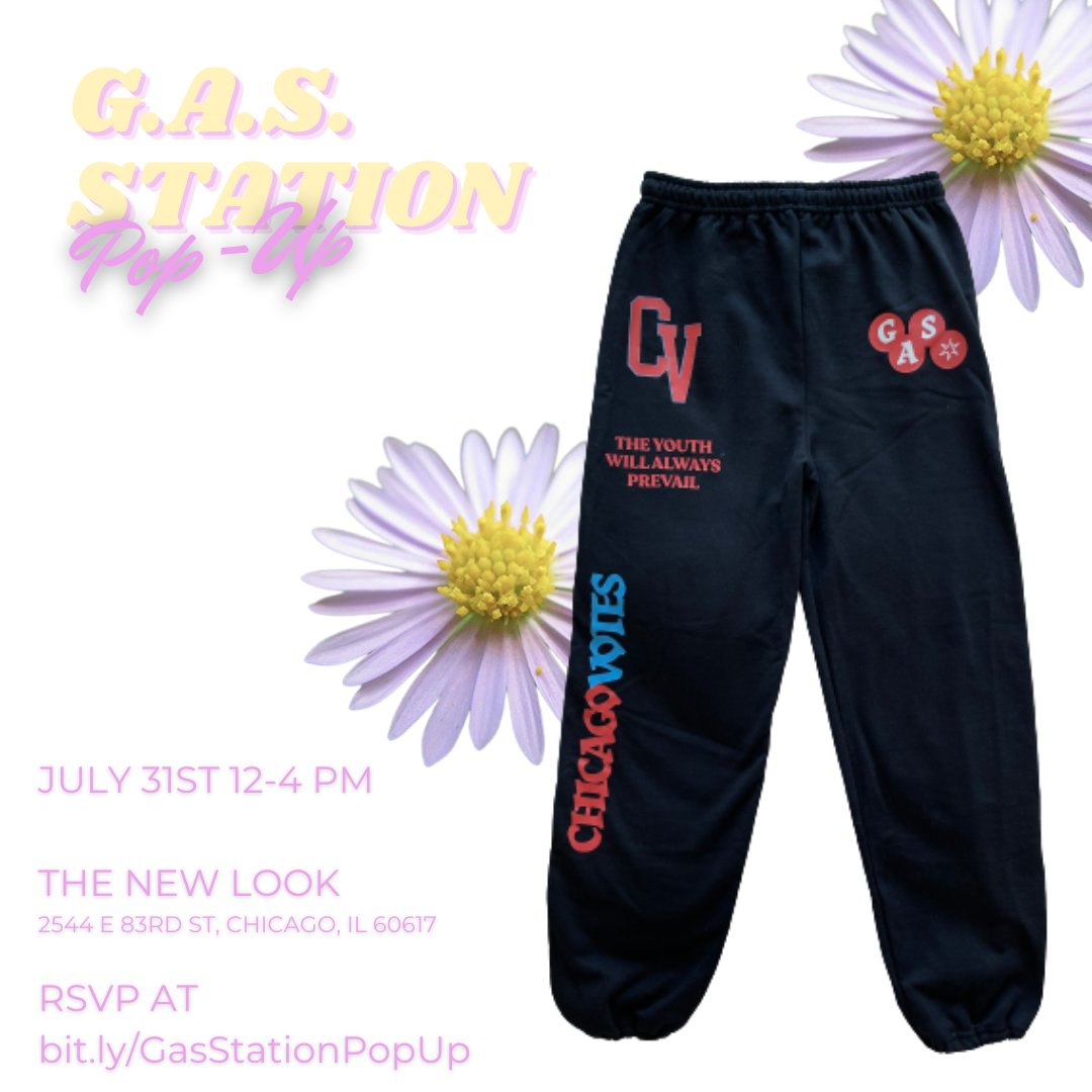 The G.A.S. Station Pop Up, where you can buy our 🔥🔥🔥 summer line, is TWO WEEKS away!  The event is FREE, but you can RSVP and buy a food and drink package at https://t.co/G9xlsqaLZw  Which items are your favorite? https://t.co/3Y1hBM0TrR