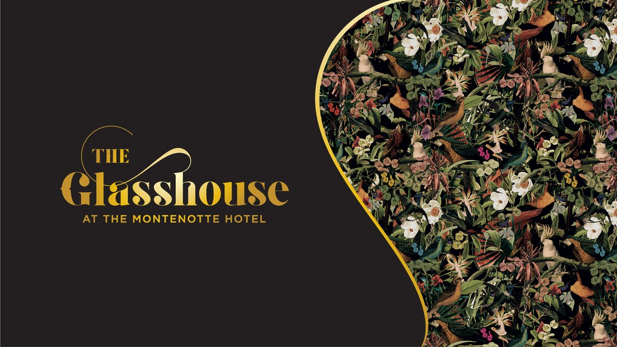 The Glasshouse 🍹🥂  We worked on a very exciting project with @MontenotteH  recently. We collaborated with them on the brainstorming & naming of a new rooftop bar and then developed the branding & all associated print and digital collateral.  https://t.co/sDUZu2LMKp https://t.co/A9erpacPB1