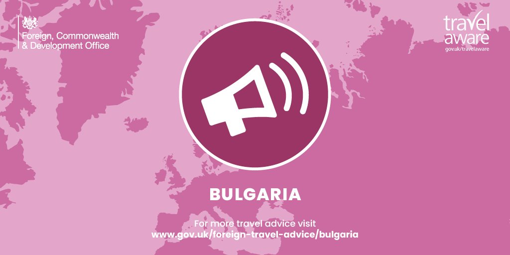 Green list for us and red list for them = no travel to Bulgaria at this time for Brits
