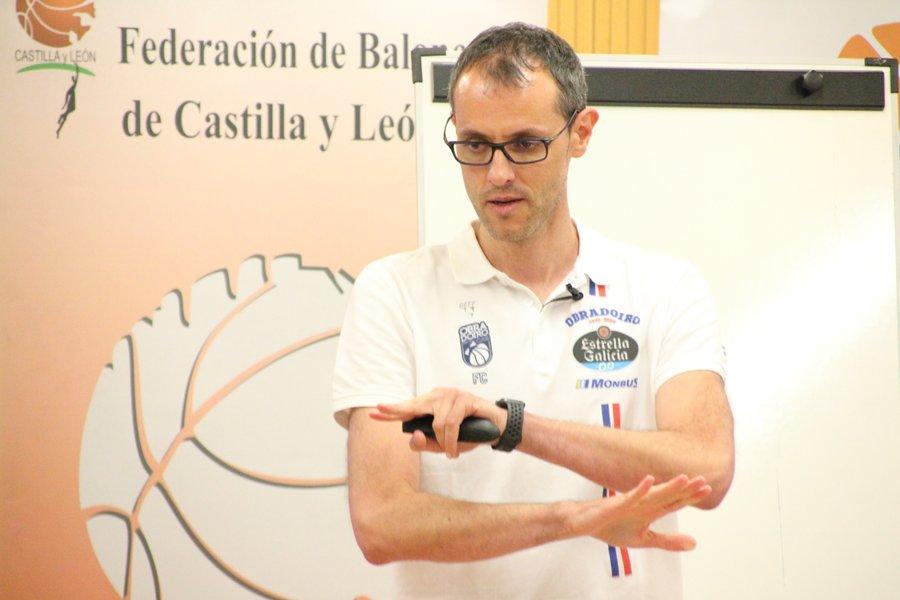 Fran Camba en el Máster Dirección Deportiva en Baloncesto