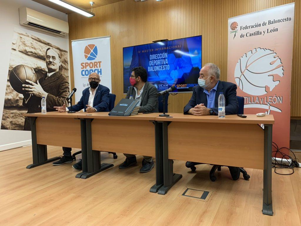 Inauguración del Máster Internacional de DIrección Deportiva en Baloncesto