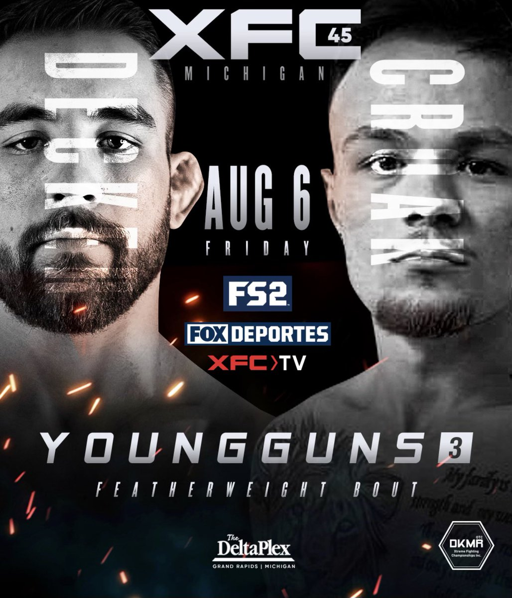 Amateur cage fighting the young guns