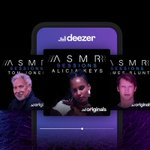 Image for the Tweet beginning: Deezer Launches a Dedicated ASMR