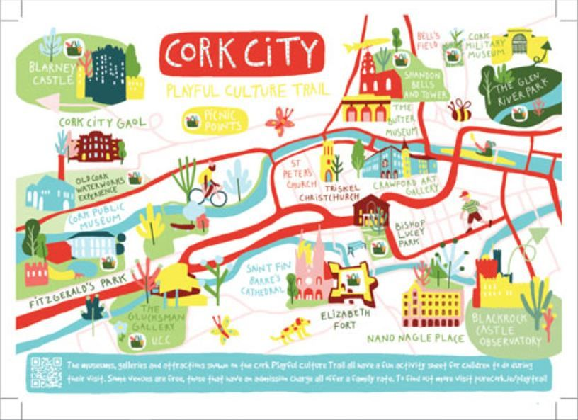 🔍Looking for things to do with your kids this summer?  🤸Attractions in Cork City have come together with support from Cork City Council to create a Playful Culture Trail - with 30 fun and playful places. ➡️https://t.co/CGXmRtVBQ0  @blackrockcastle @lifetimelabcork @glucksman https://t.co/grxCxMy8Kx