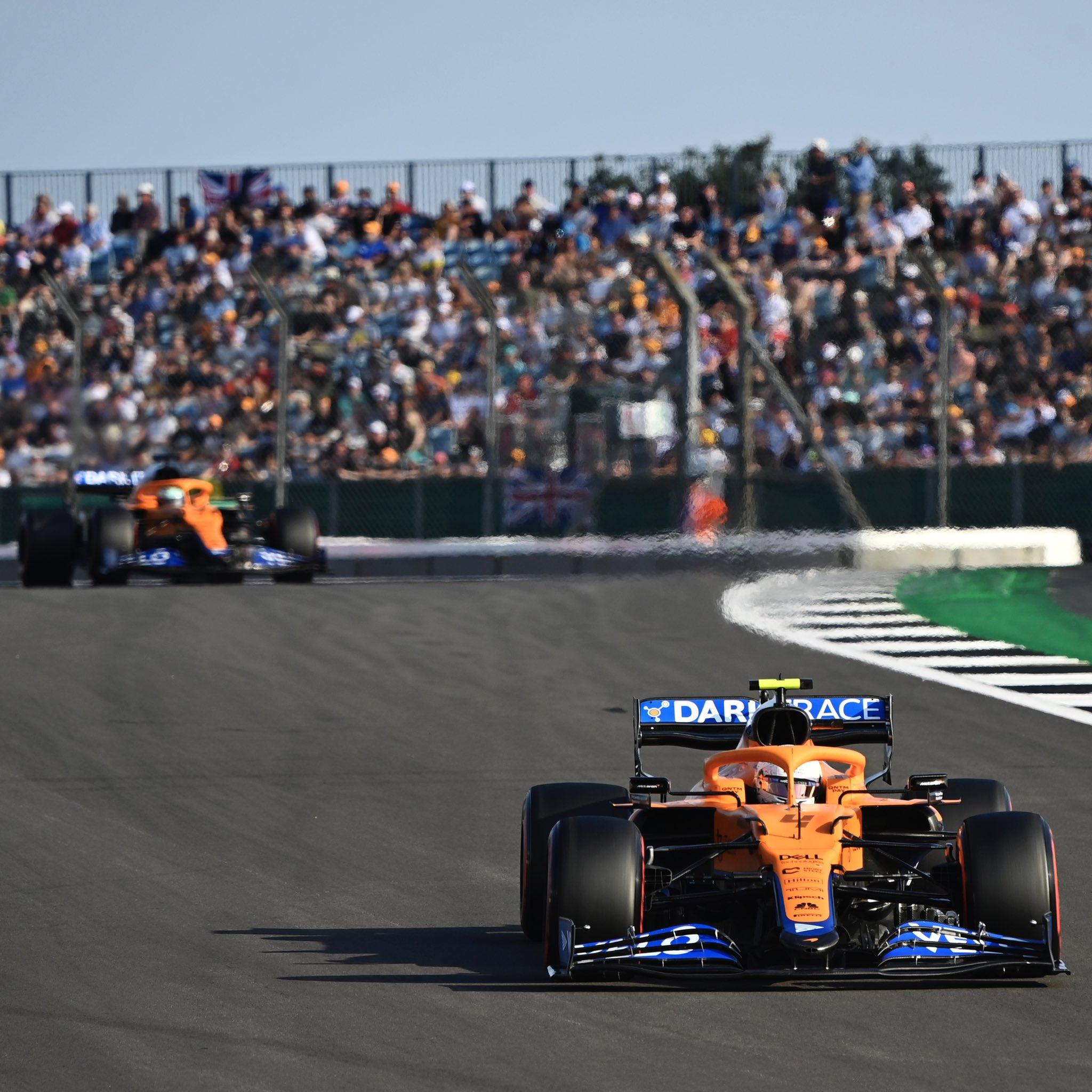 Silverstone 2021 Qualifiche McLaren