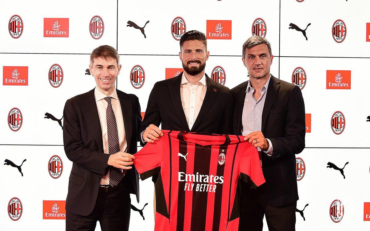 Olivier Giroud chính thức gia nhập AC Milan
