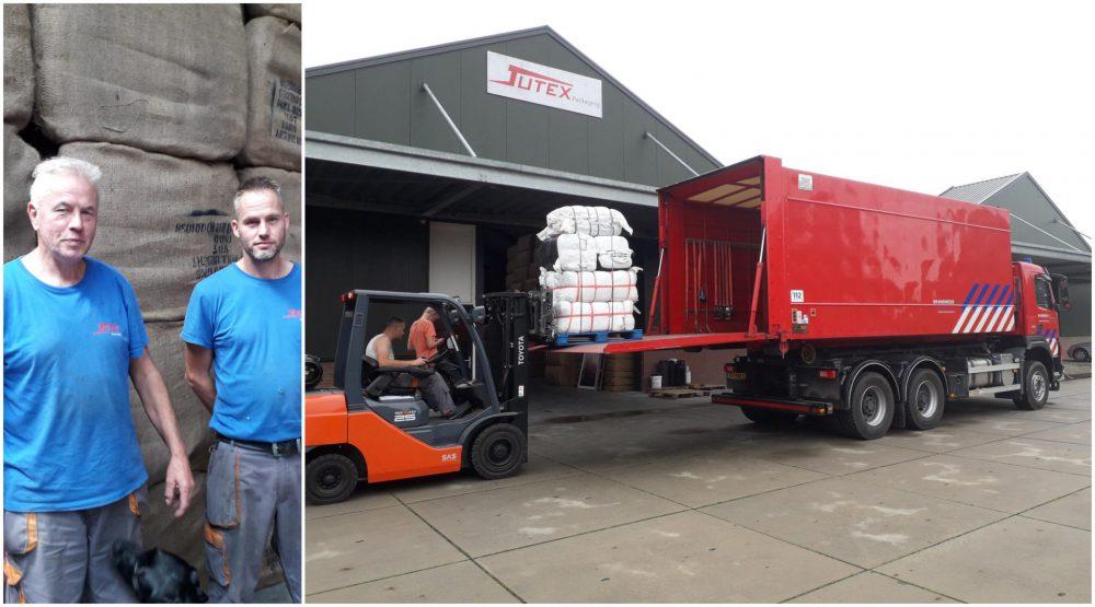 150.000 zandzakken 'vliegen de deur uit' bij Jutex Packaging in #Bodegraven.