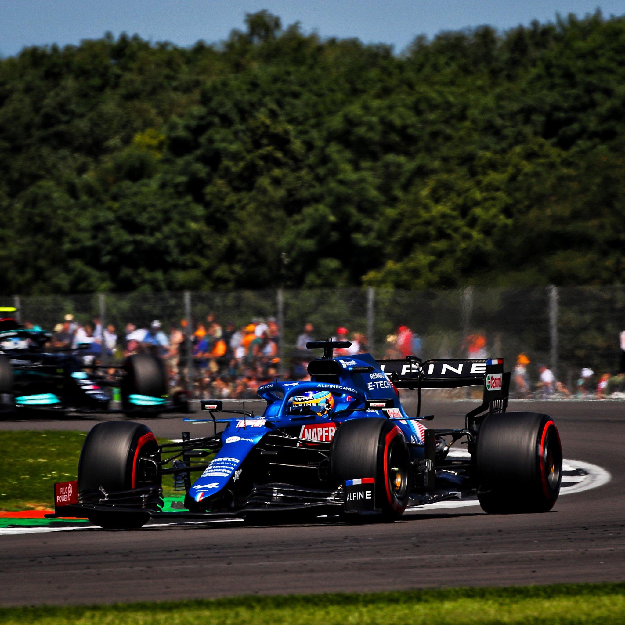 Silverstone Qualifiche Sprint Alonso