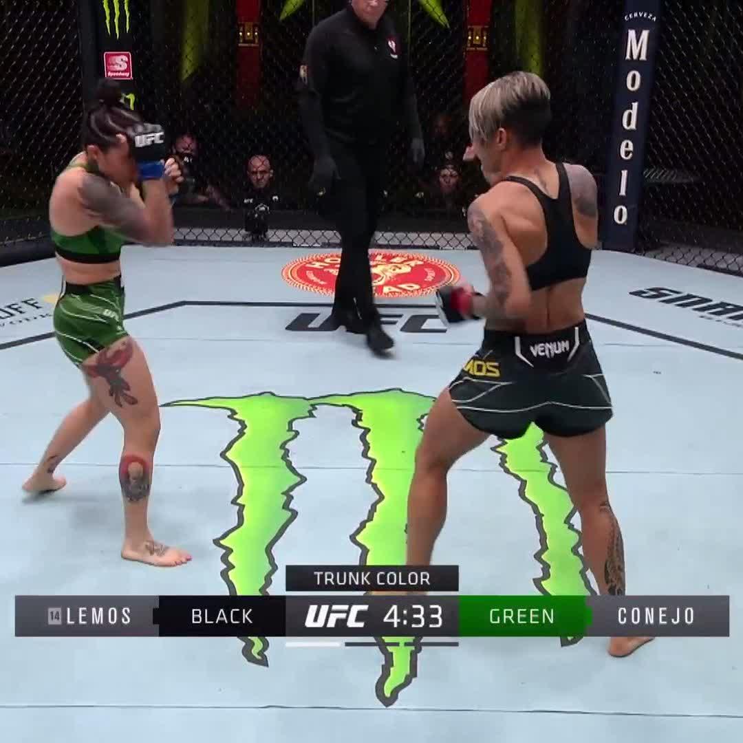 Amanda Lemos was -630 on the moneyline for a reason 😱  (via @UFC) https://t.co/VoDCRKydFa