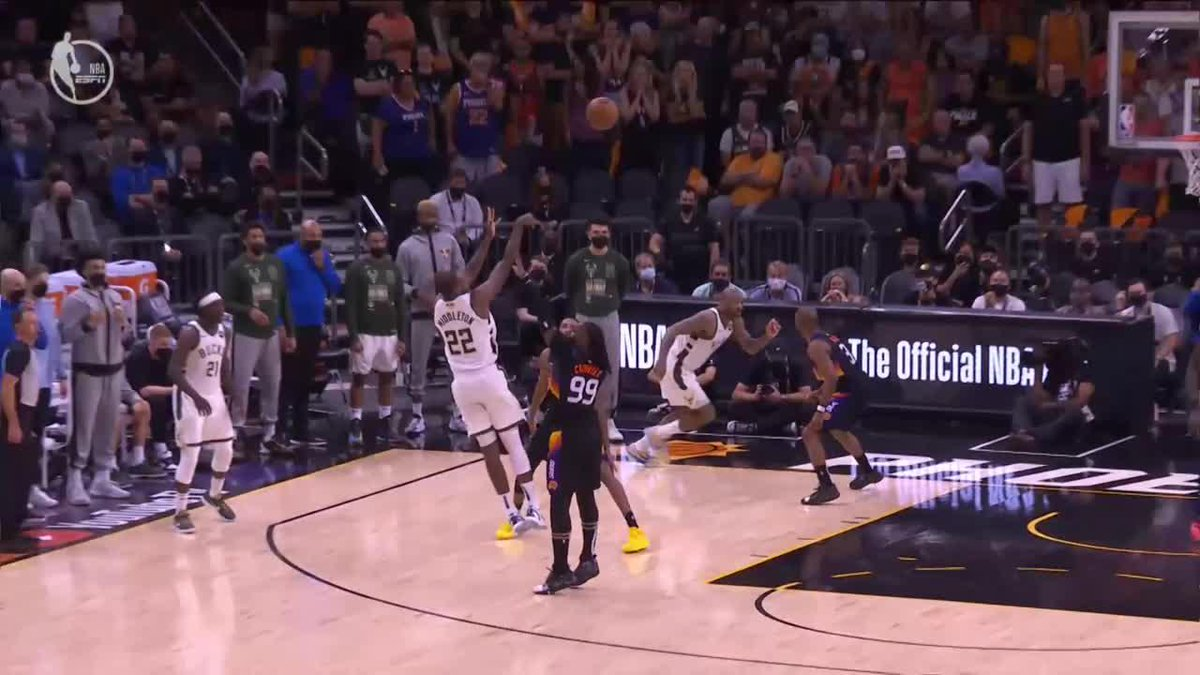 MIDDLETON IS LOCKED IN 🔒  Big time and-1  (via @NBATV) https://t.co/Rnks7Qf68L
