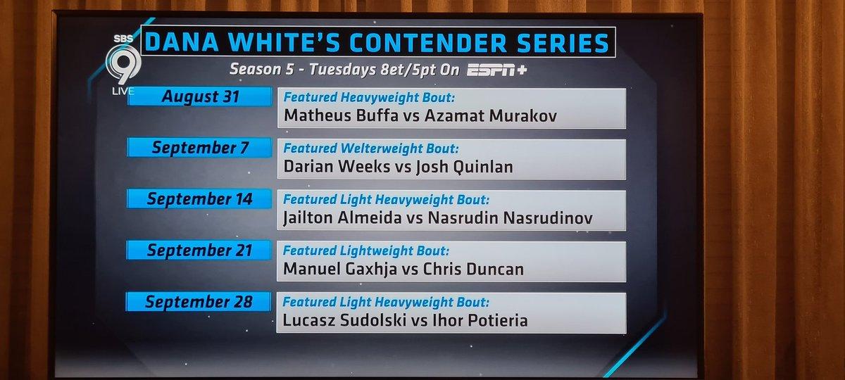 UFC potwierdziło nasze doniesienia sprzed 3 tygodni o walce Sudolski vs Poterya na #DWCS https://t.co/iy0b4pXOXd https://t.co/jW2s6wO8RQ