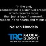 Image for the Tweet beginning: #trcglobalsummit is happening #Mandeladay ,