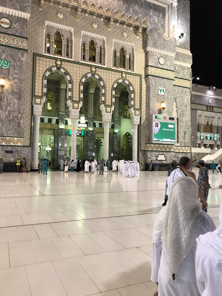 A beautiful selection of pictures from Hajj 2021, taken yesterday. So beautiful. 🕋🕋 https://t.co/qohfV709Lq