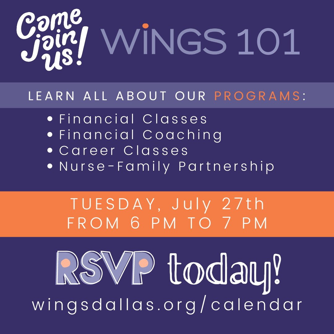test Twitter Media - Have you heard about WiNGS around Dallas or on social media, but you're not quite sure what it's all about? We invite you to join us for a virtual WiNGS 101, where we share with you what our free programs are and answer your questions! Register: https://t.co/VaAFMOs4HS https://t.co/C1fKmGznOd