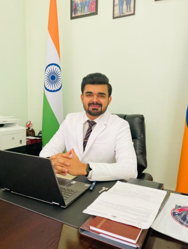 Dr. Ashok Patel (30) becomes the younger Vice Chancellor of Indian origin abroad