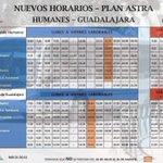 Image for the Tweet beginning: 🚍Nuevos Horarios del Plan Astra