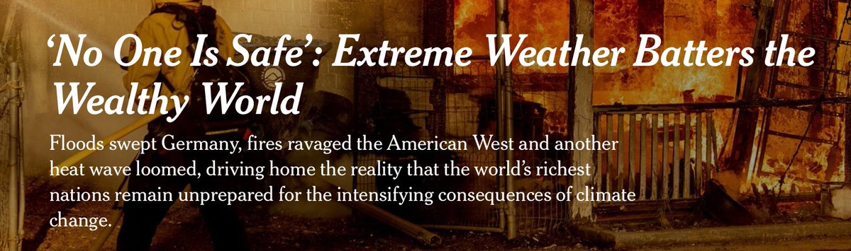 NYT claims 'no one is safe' from extreme weather: Dr. Pielke responds: 'I can't get over how egregiously wrong this NYT article is' – People 'have never in all of history been more safe in the face of weather & climate extremes'