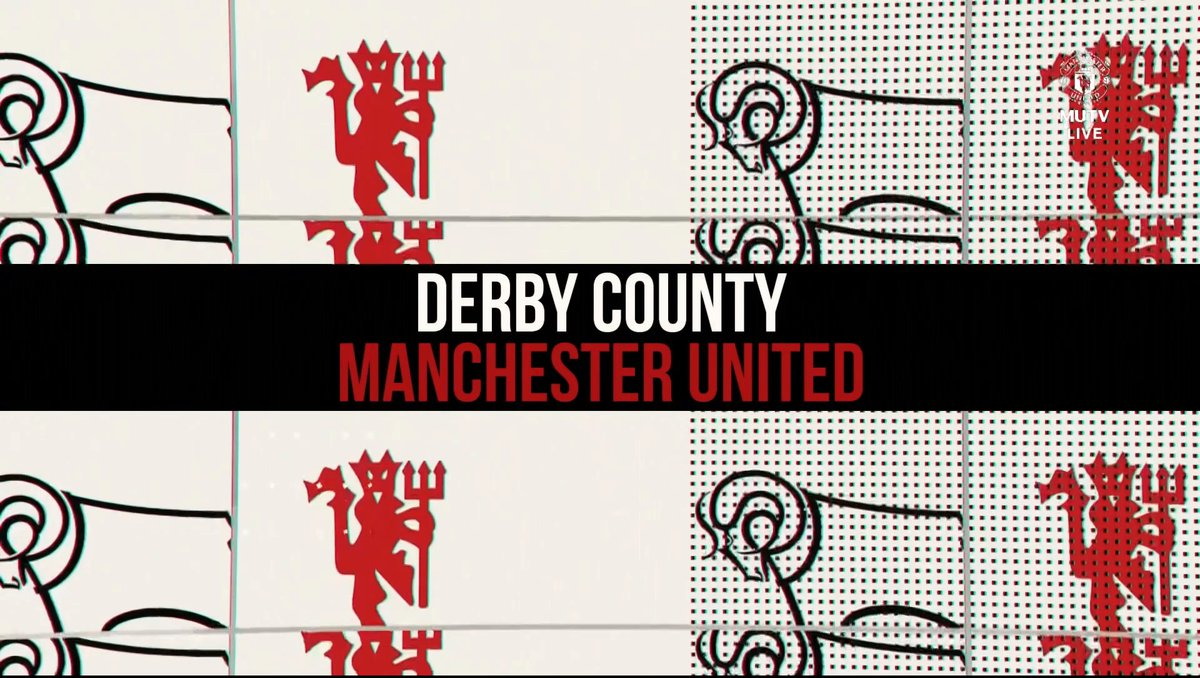 Full match: Derby County vs Manchester United