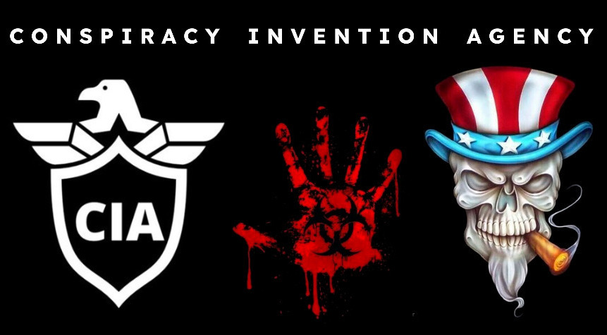 """Y'all know that the letters """"CIA"""" really stand for """"Conspiracy Invention Agency"""" right?  /s https://t.co/nDs2CmdfPM"""
