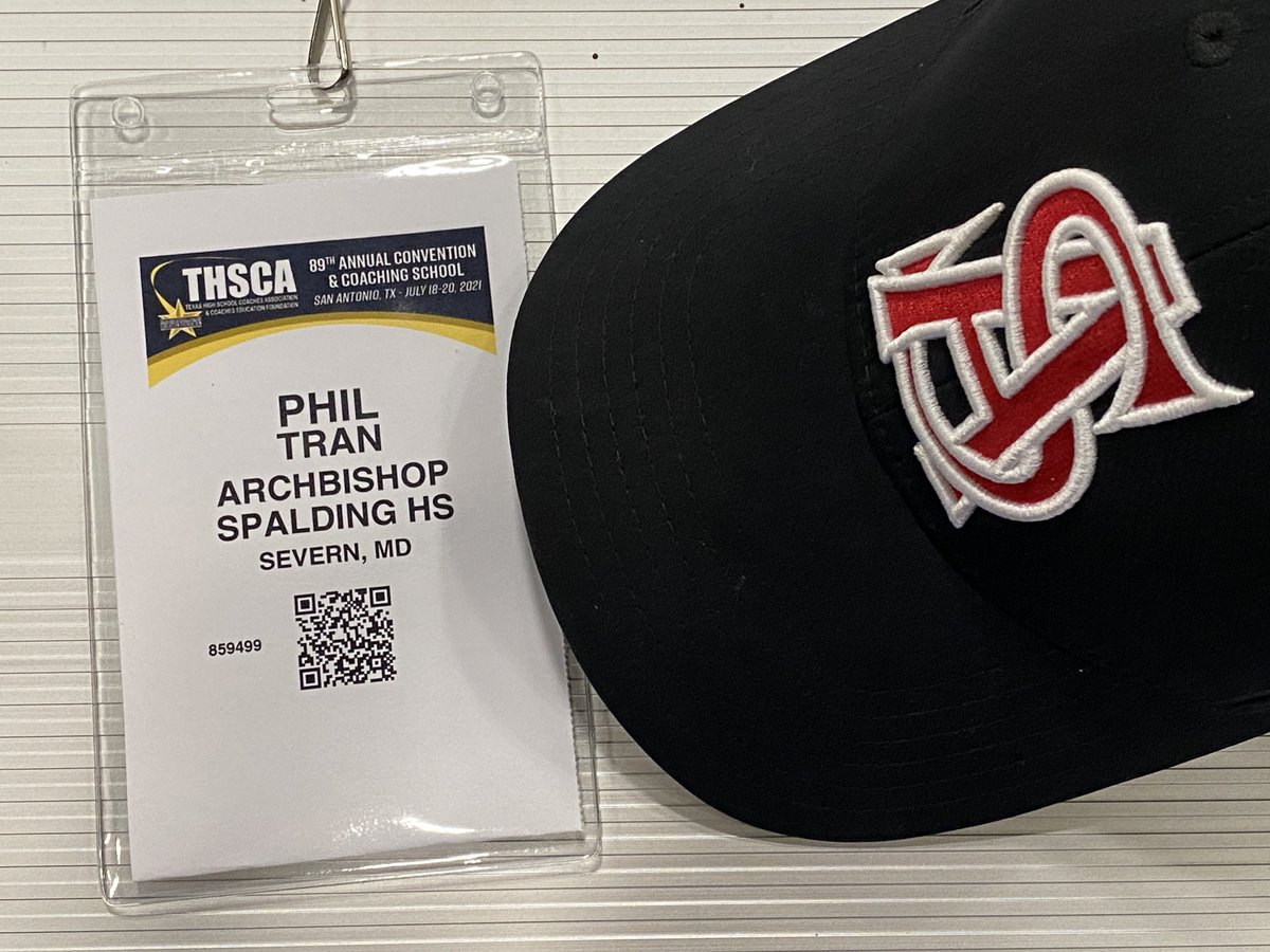 There is a random native Texan living abroad as a Maryland HS football and girls' ice hockey coach roaming the 89th Annual Texas High School Coaches Association Convention and @THSCAcoaches Coaching School. https://t.co/T09w4lNWB9