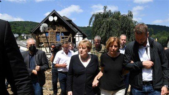 ميركل سنقدّم مساعدة مالية سريعة لمتضرّري فيضانات ألمانيا via