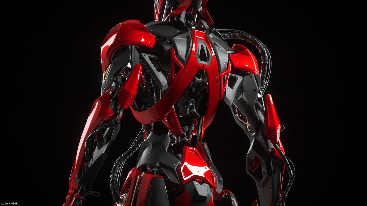 test Twitter Media - 🏍️ Sport motorcycles helped inspire this robot design by @lukamivsek  See more images: https://t.co/7c5PJLIo6g   ... #3D #3DModeling #Robot #Robots #HardSurface #Mechs #Mecha #DigitalArt #ArtStationHQ https://t.co/E3dG5XkqnR