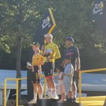 Image for the Tweet beginning: Formidable! Danish rider Vingegaard conqured
