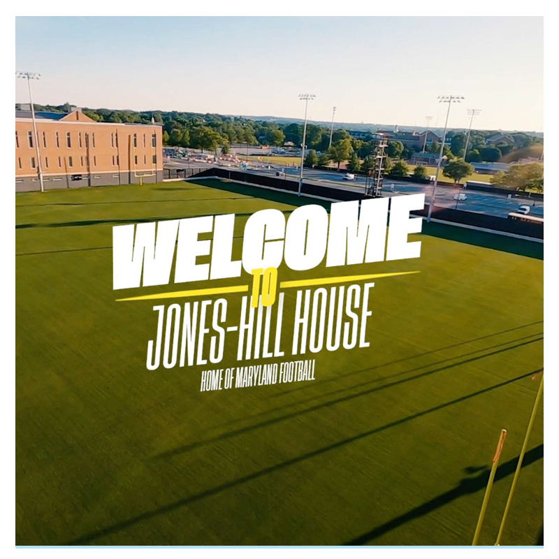 New Practice Football Fields - - Jones-Hill House - Performance and Innovation Center (Formerly Cole Field House). . .  #maryland #univofmaryland #newfield #newconstruction #naturalgrass #JonesHillHouse #TBIA #ColeFieldHouse https://t.co/mmaWlU8vTF